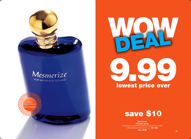 Avon Mesmerize Fragrance - Men