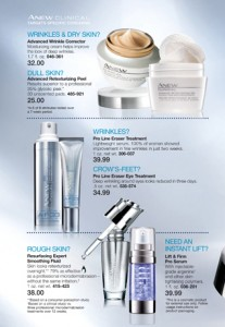 Anew Clinical Facial Products