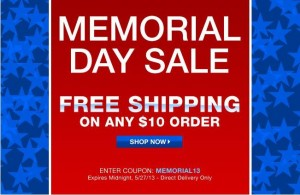 Avon Memorial Day Sale 2013