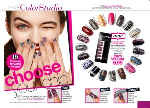 Avon Nail Art Design Strips