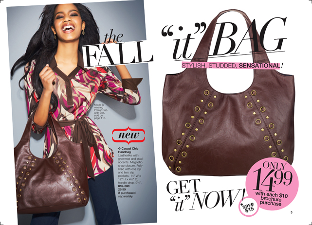 Avon Fall Stylish Studded Bag