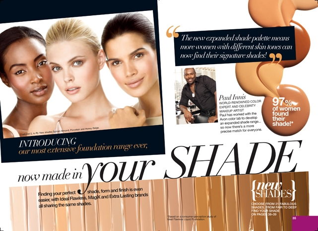 Avon Foundation Makeup Paul Innis