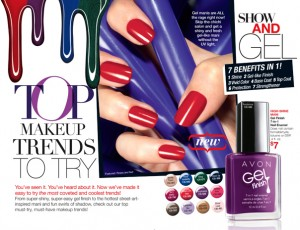 Avon Gel Nail Finish