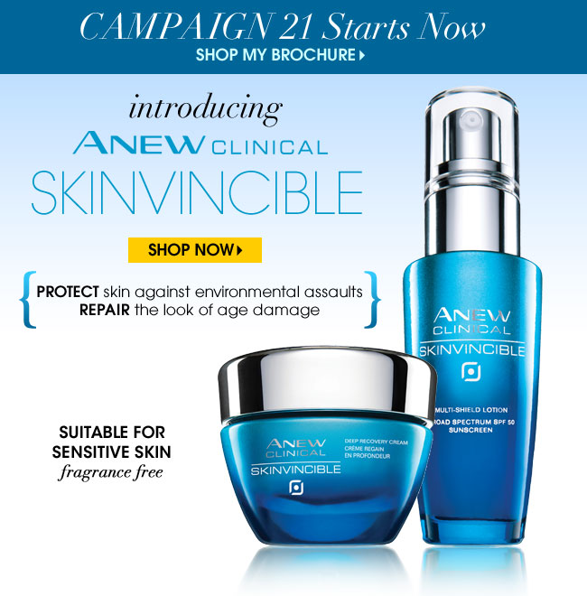 Shop Avon Campaign 21 Brochure Now
