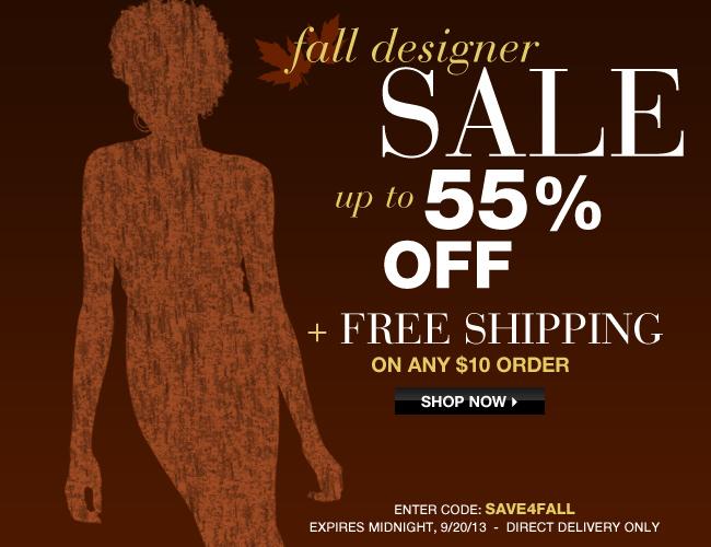 Avon Fall Designer Sale