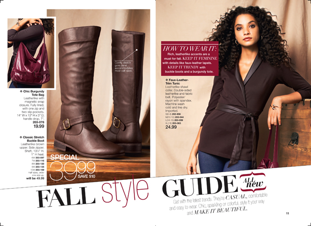 Avon Fall Style Guide