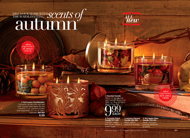 Avon Scents of the Season