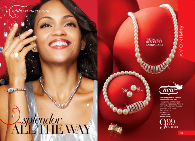 Avon Holiday Jewelry