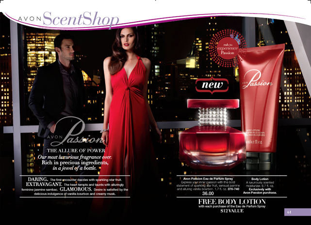 Avon Passion Fragrance Special