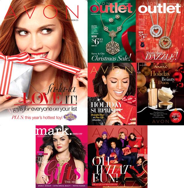 Shop Avon Campaign 25 Brochure