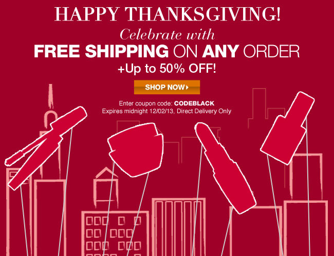Avon Happy Thanksgiving Free Shipping