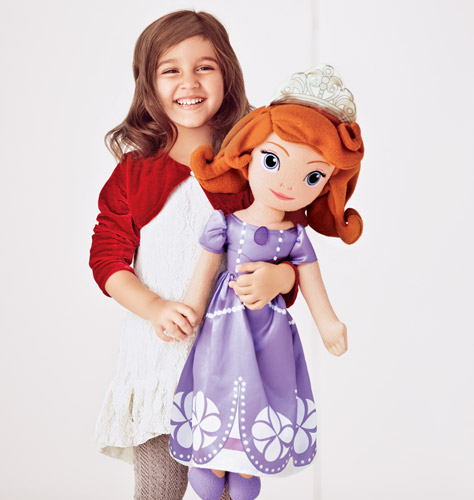 Avon Sofia The First Plush Doll