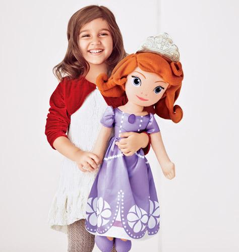 Avon Sofia The First Plush Doll