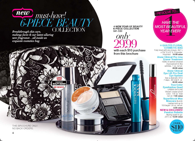 Shop Avon Campaign 02 Brochure - 6 Piece Beauty Collection