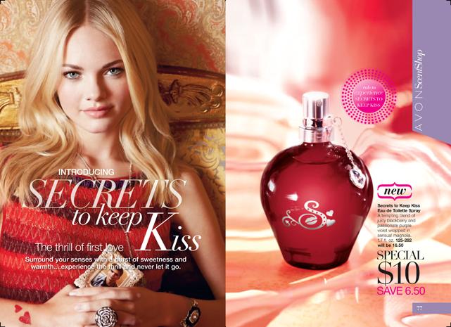 Shop Avon Campaign 02 Brochure - Secrets to Keep Kiss