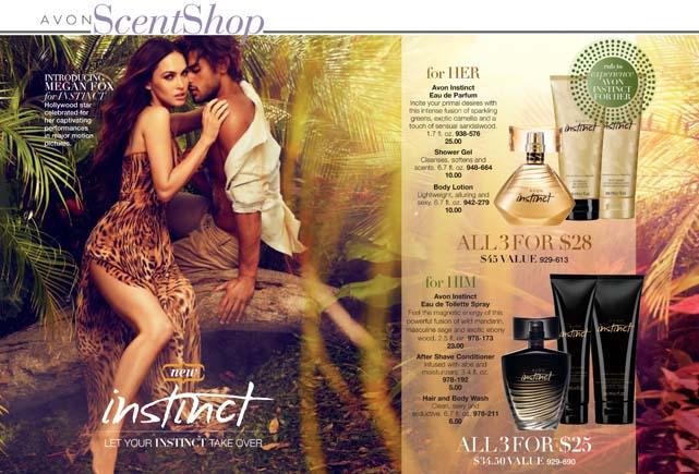 Avon Instinct Fragrance