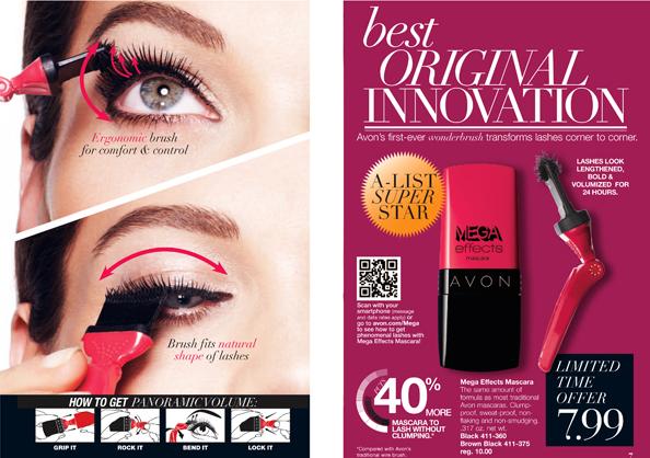 Avon Mega Effect Mascara - How to Apply