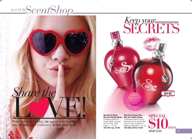 Avon Secrets to Keep Fragrance