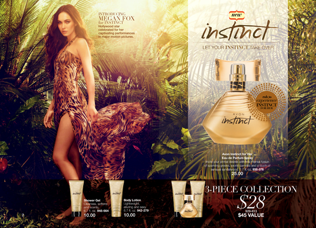 Megan Fox for Avon Fragrance Instinct for Her