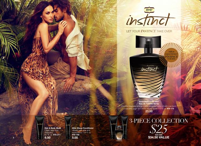 Megan Fox for Avon Fragrance Instinct for Him