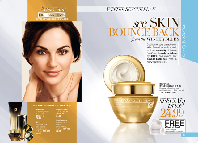Avon Anew Skin Care Beauty Makeup And More