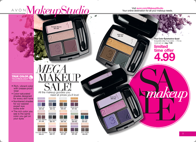 Avon Mega Makeup Sale