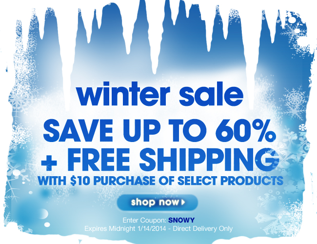 Avon Winter Sale Free Shipping