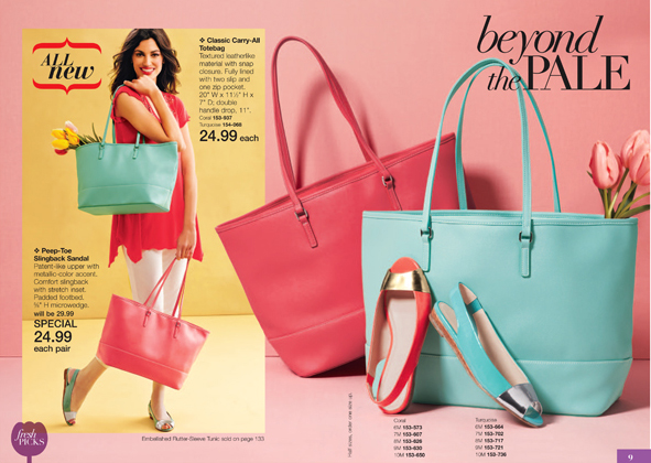 Avon Classic Tote and Sandals