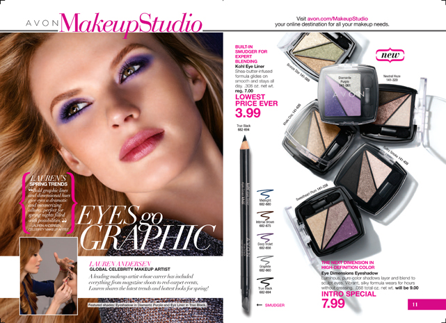 Avon Eye Dimensions Eyeshadow