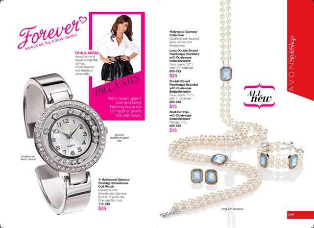 Avon Hollywood Glamour Paula Abdul