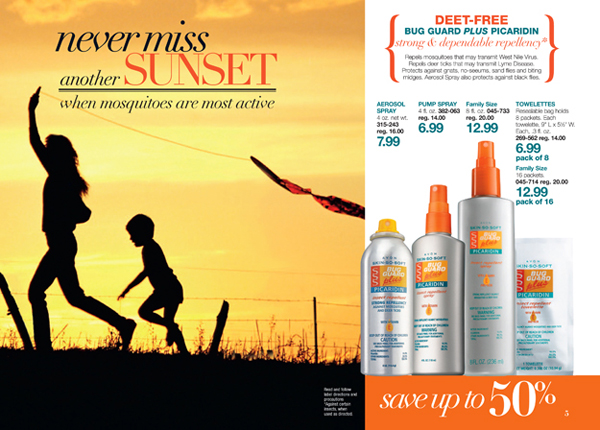 Avon Deet Free Bug Guard Plus Picaridin