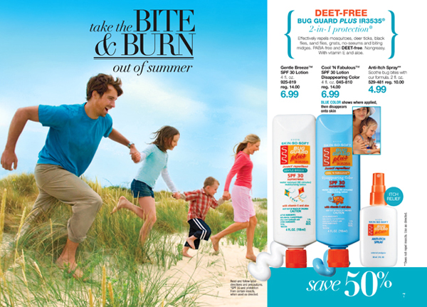 Avon Deet Free Bug Guard Plus Picaridin 2-in-1 Protection