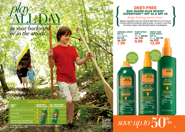 Avon Deet Free Bug Guard