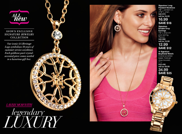 Avon Signature Collection Jewelry