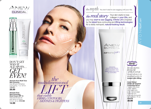 Avon Anew Infinite Lift Targeted Contouring Serum