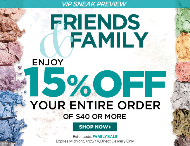Avon Coupon Code FAMILYSALE