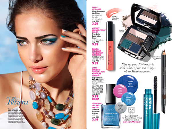 Avon Riviera Goddess Collection