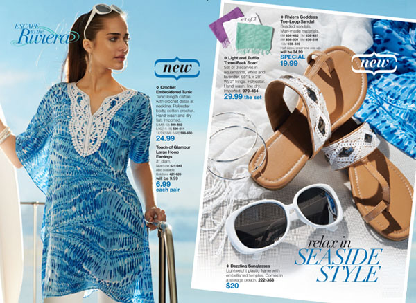 Avon Riviera Goddess Fashion Accessories