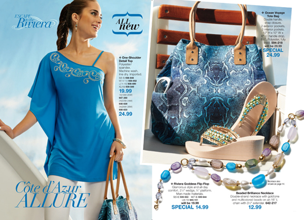 Avon Riviera Goddess Fashion Accessories 2