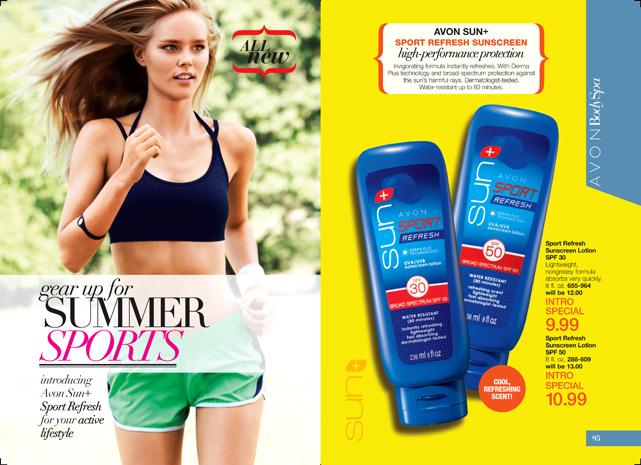 Avon Sun+ Sport Refresh Sunscreen