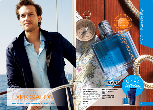 New Avon Fragrance Exploration for Men