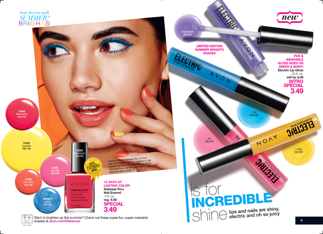 Avon Electric Lip Gloss