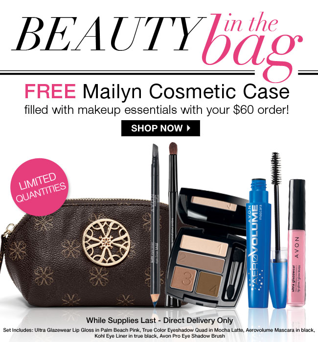 FREE Mailyn Cosmetic Case