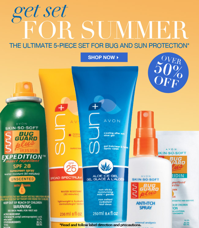 Avon Bug Guard Savings