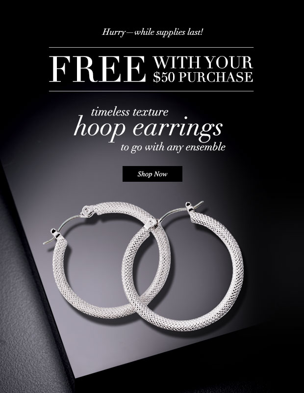 FREE Avon Hoop Earrings