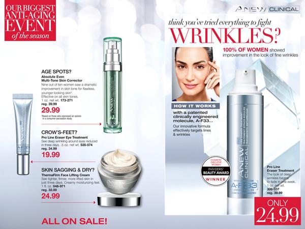 Avon Anew Sale 2