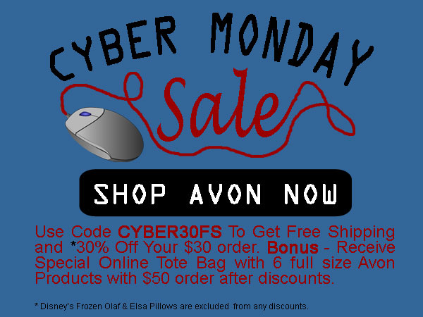 Avon Coupon Code CYBER30FS