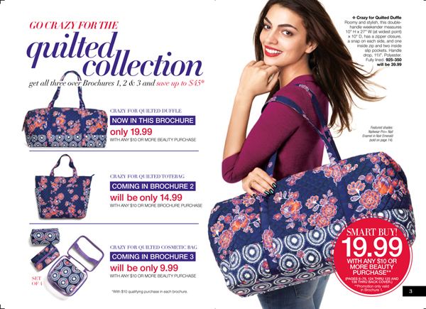 Avon Quilted Collection Sale