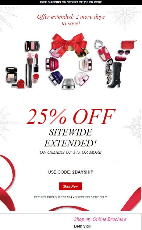Avon Free Shipping 2DAYSHIP