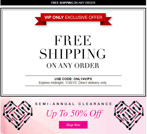 Avon Coupon Code ONLY4VIPS